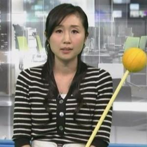 【ニュース7】気象予報士平野有海さんのムチムチママさんクビレニット【雨続き!?】