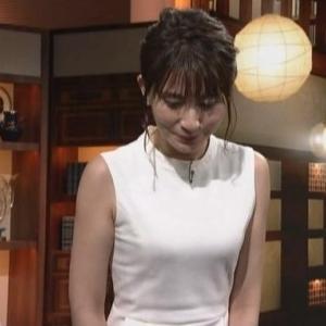 【おじぎとふくらみ】NHK井上あさひアナのムチムチノースリと二の腕【NEWSきょう一日】
