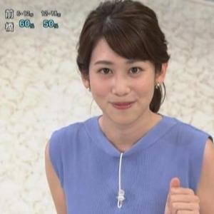 【あさイチ】中川安奈アナノースリ横乳が目立って突き出しロケット状態!?【NHKのムチムチ巨乳】