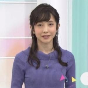 【2020年のムチムチ⑩4月その3】NHK林田理沙・保里小百合・森下絵理香アナのクビレニット!