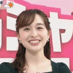 【あさチャン】TBS宇賀神メグアナ癒し系で笑顔いっぱいムチムチニット!【脳シャキ30秒クイズ】