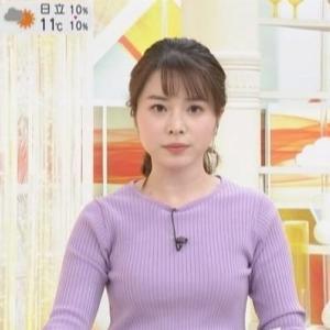 【はやドキ!】TBS皆川玲奈・山形純菜アナ早朝番組DEムチムチクビレニット!【癒される】