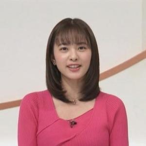 【news zero】日テレ河出奈都美アナの癒し系ムチムチクビレニット【ほんわかお嬢様】
