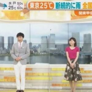【はやドキ!】TBS若林有子アナ・現役女子大生山本里咲の若手ムチムチニット【ピチピチ20代前半】