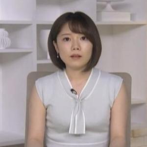【TBSニュース】福島佑理アナムチムチノースリ二の腕とテーブルおじぎのせ【アラサー女子】