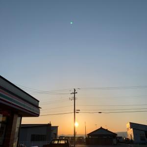 今朝の鶴岡