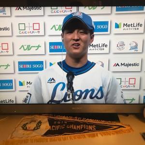 ファンが帰ってきたホーム初戦でライオンズ勝利!(^_^)v