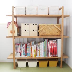 無印夏の福袋!セリアと無印で本の収納・場所を取らず、子供も出し入れしやすい♪