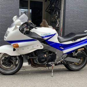 サヨナラ、ZZR1100