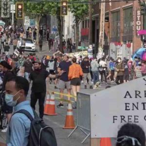 【米デモ】シアトルに「自治区」一帯占拠、大統領が非難