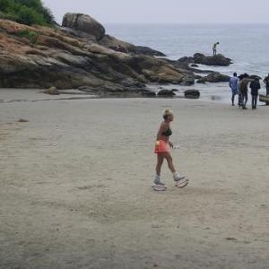 コブァーラムビーチで