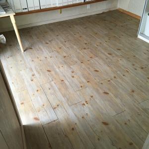 床の模様替え キッチン・リビング 3 書斎へ