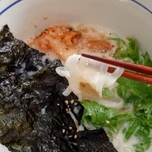 豆乳キムチ麺(グルテンフリー)
