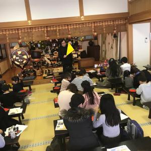 12/8 京都で親子折り紙教室開催! 皆さんとても喜んでくださいました!