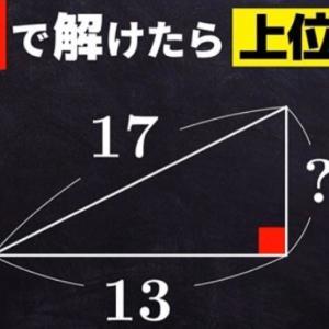 中学で習う三平方の定理も折り紙算数なら全体像が見えてくる!見えるととたんに面白くなってくる!