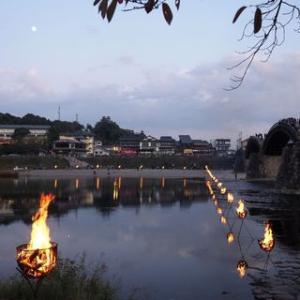 錦帯橋芸術祭2019を見て来た191109・10