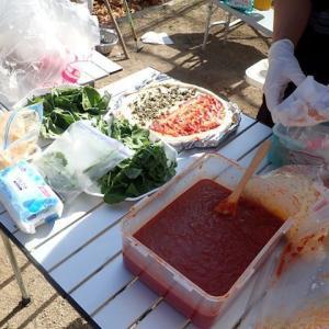 ピザの日にちなんだ地元の小学校のイベントを楽しんだ201115