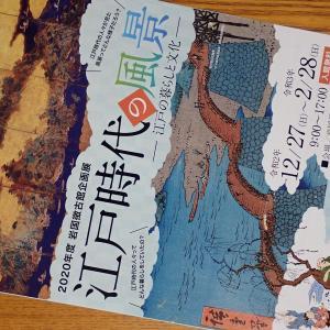 岩国徴古館企画展『江戸時代の風景-江戸の暮らしと文化-』201227~210228