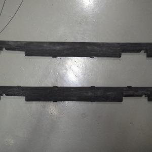 モトコンポ リペア  樹脂の白化を黒くする