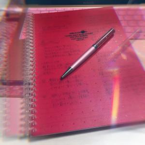 手書きが大好き!♡願望実現の近道と確信♡お気にのノートはこれだ!!入AQUA DROPs