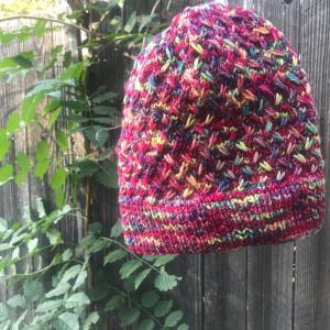 *マラブリゴRiosで編むJOJIさんの帽子パターン~Field of Wildflowers*