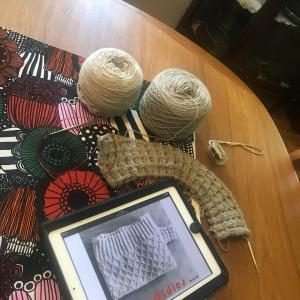 *KAL用、Purl Sohoの糸で編むセーター~Oldies*