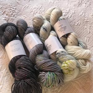 *ムチムチむっちり、ローカルハンドダイの毛糸購入*
