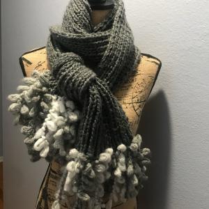 *フリンジがモフモフのスカーフ&フィンランドからLAPUAN KANKURIT到着*