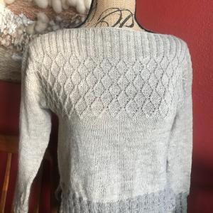 *Purl Sohoの糸で編んだセーターOldies完成*