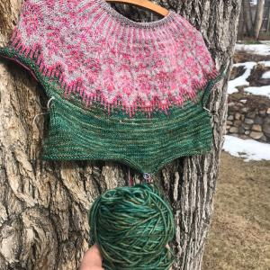 *落ち込み気味の週末で、編み物意欲も停滞中*