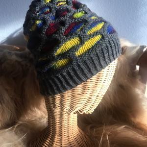 *Honeycomb帽子完成&全米注目のミトン*