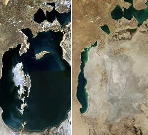 共産主義が破壊したもの…アラル海