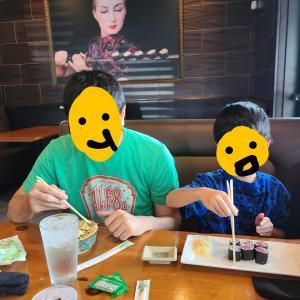 [息子6歳6ヶ月]初めての日本料理屋で☆息子が食事中に欠かせないもの
