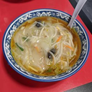 羽田空港 天鳳 海鮮サンマー麺