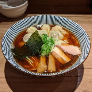 矢口渡 中華soba いそべ 黒旨特製ワンタン麺