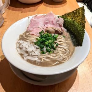 蒲田 麺屋 まほろ芭 濃厚牡蠣煮干そば