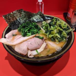蒲田 環2家 蒲田店 チャーシューメン中小松菜きのこ