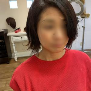 医療用ウイッグ 本当はこんな髪にしたかったんです。