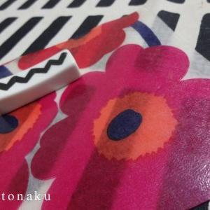 ★縫わない 防水 marimekko コースターを作ろう( *´ ︶ `* )