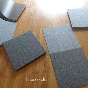 ★介護部屋に簡単に洗えるタイルカーペットを敷いたのは大正解