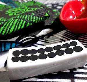★自作手描き オリジナル食器はニトリの箸置きから