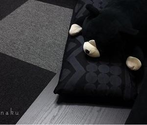 ★部屋を黒で統一すると ( Φ ω Φ ) 難点が1つあります。