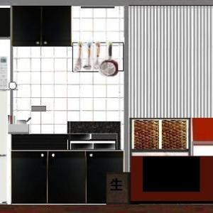 ★少し変わったキッチンと 変わる予定の冷蔵庫 ( * • ω • * )