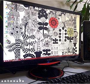 ★パソコンのやりすぎかも ね。 ( Φ ω Φ ) ハンセイ