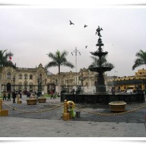 リマ旧市街地 アルマス広場