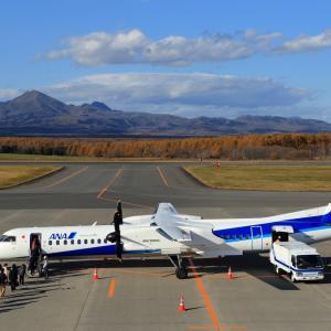 満席と雲  DHC-8  ANAウイングス (EH)