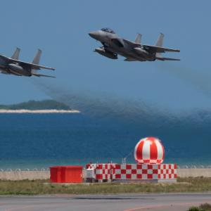 同時離陸  F-15  航空自衛隊
