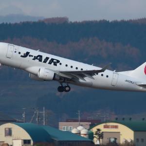 建物密集  ERJ-170  ジェイ・エア(JLJ)