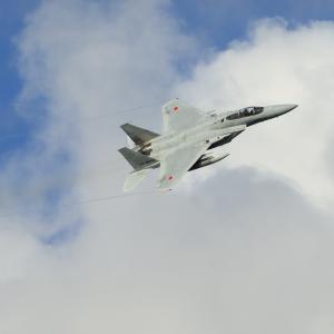 夏空ベイパー  F-15  航空自衛隊