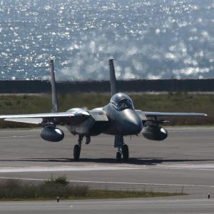 熱のカーテン  F-15  航空自衛隊